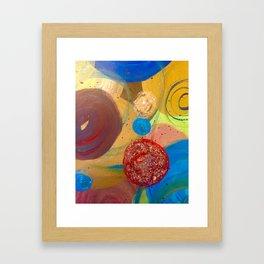 Bubble.Pop Framed Art Print