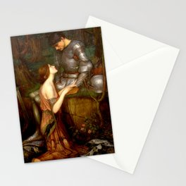 John William Waterhouse Lamia Stationery Cards