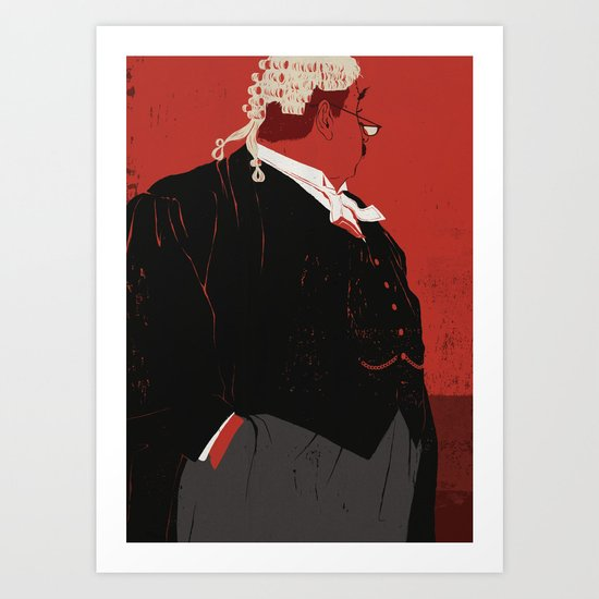 Rumpole Of The Bailey Art Print