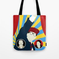 rushmore Tote Bags featuring Rushmore by Bill Pyle