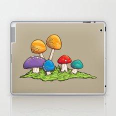Mushrooms (Colors) Laptop & iPad Skin