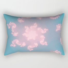 Summer Skies Of Love Rectangular Pillow