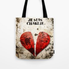 Je suis Charlie Graphic Tote Bag