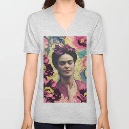 Frida Kahlo VII Unisex V-Neck