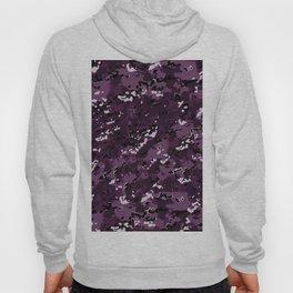 Byzantium Purple Popular Multi Camo Pattern Hoody