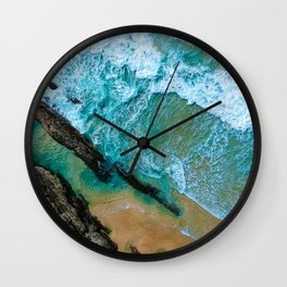 The Sea Is Calling Wall Clock