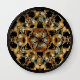 Butterscotch Créme Wall Clock