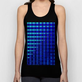 Blue in Shadows Unisex Tank Top