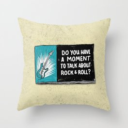 Do You Have a Moment to Talk About Our Savior? Throw Pillow