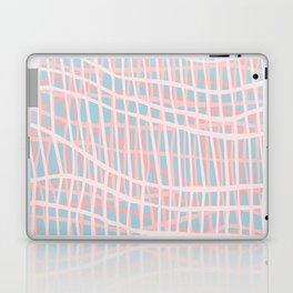 Net Blush Blue Laptop & iPad Skin