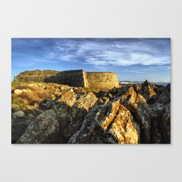 Areosa fortress Canvas Print