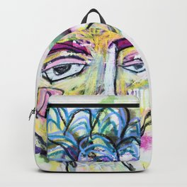 She is imperfect, but she tries Backpack