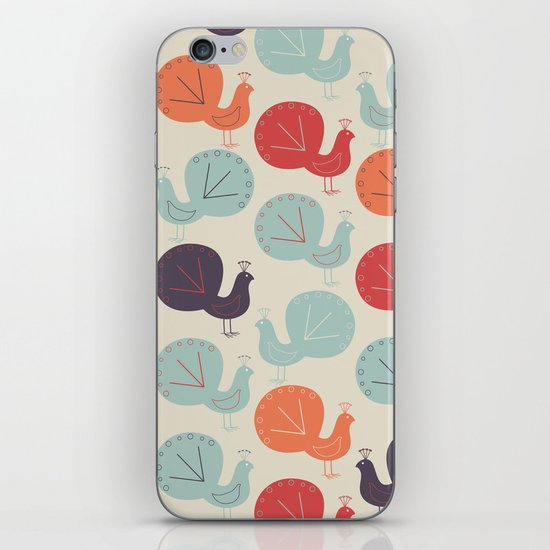 Peacock Pattern iPhone & iPod Skin