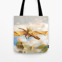 The City Of The Dragon Tote Bag