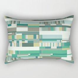 Debussy Little Shepherd (Greens) Rectangular Pillow