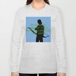 Alec Lightwood - Mundanes Long Sleeve T-shirt
