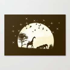 Out Of Africa Canvas Print