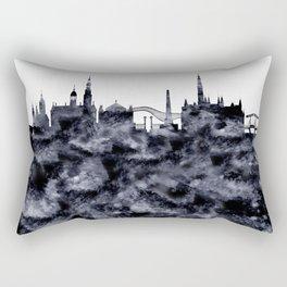 Amsterdam City Skyline Rectangular Pillow