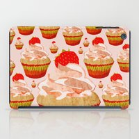 cupcakes iPad Cases featuring Cupcakes by Alexandra Baker