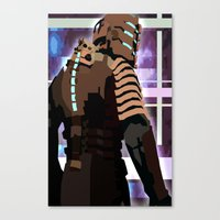 engineer Canvas Prints featuring The Engineer by sens