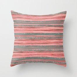Watercolor Ribbons Throw Pillow