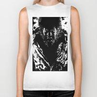 werewolf Biker Tanks featuring Werewolf by PCRK