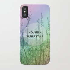You Are Superstar iPhone X Slim Case