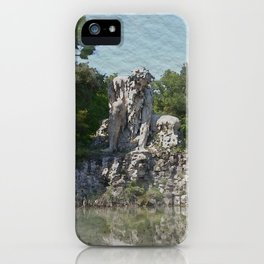 HALF MAN HALF MOUNTAIN iPhone Case
