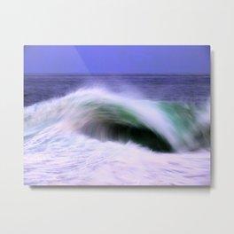 The Moving Ocean Metal Print