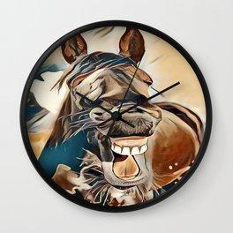 Laughing Jack Wall Clock
