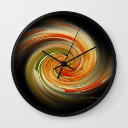 The whirl of life, W1.6B Wall Clock