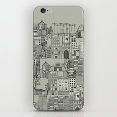 dystopian toile mono iPhone & iPod Skin