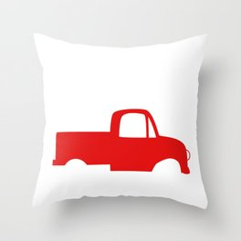 Cowboy Up or Go Sit in the Truck Throw Pillow