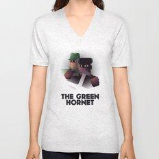 Cassandre Spirit - The green hornet Unisex V-Neck