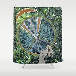 Our Mother, Our Strength Shower Curtain