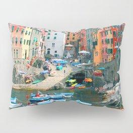 Italy. Cinque Terre marina Pillow Sham