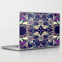kaleidoscope Laptop & iPad Skins featuring Kaleidoscope by QUEQZZ
