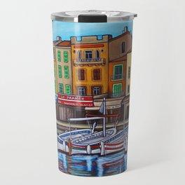 Colours of Cassis Travel Mug