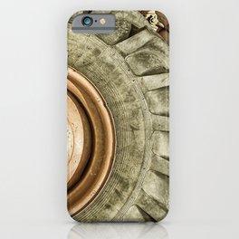 Big Combine Harvester Wheel iPhone Case