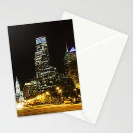 April Lights Stationery Cards