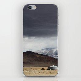 mongolian landscape iPhone Skin