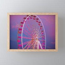 Red Wheel Framed Mini Art Print