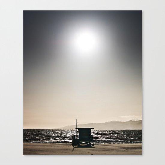 Venice Beach California Guard Tower Canvas Print