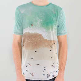Beach Mood All Over Graphic Tee