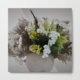 Arreglo floral Metal Print