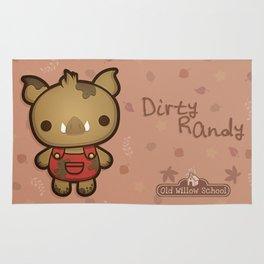 Randy the Dirty Boar Rug