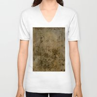 chandelier V-neck T-shirts featuring Chandelier by Jenn