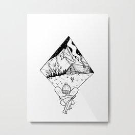 Welcome winters Metal Print