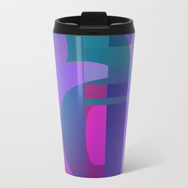 Purple A Travel Mug