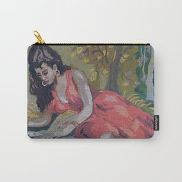 Gipsy Card Reader by Lika Ramati Carry-All Pouch